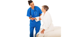 Who provides the best quality nursing staff for healthcare?
